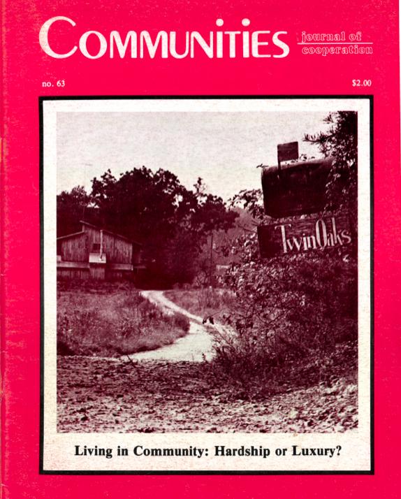 Communities Magazine 63