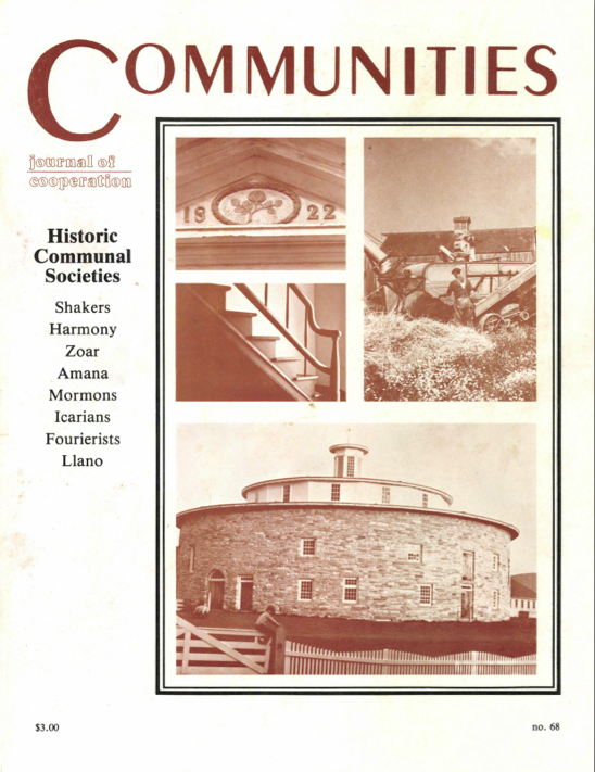 Communities Magazine 68