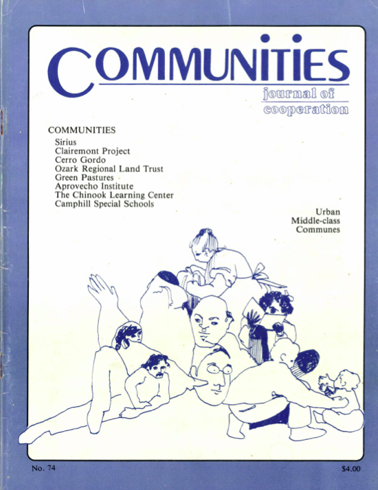 Communities Magazine 74