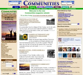 New Communities Magazine Website