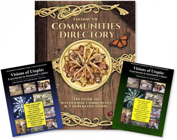 Communities Directory + 2-DVD Visions of Utopia Combo