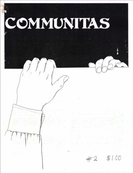 Communitas 2 Cover