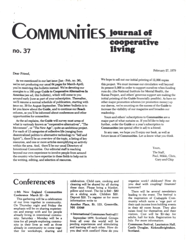 Communities Communities Magazine #37/38