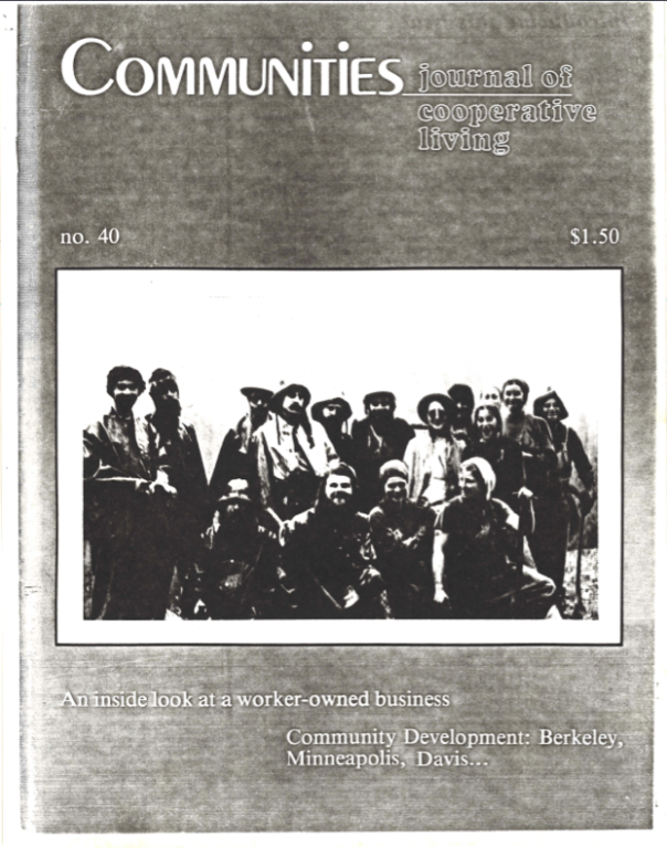 Communities Cover #40