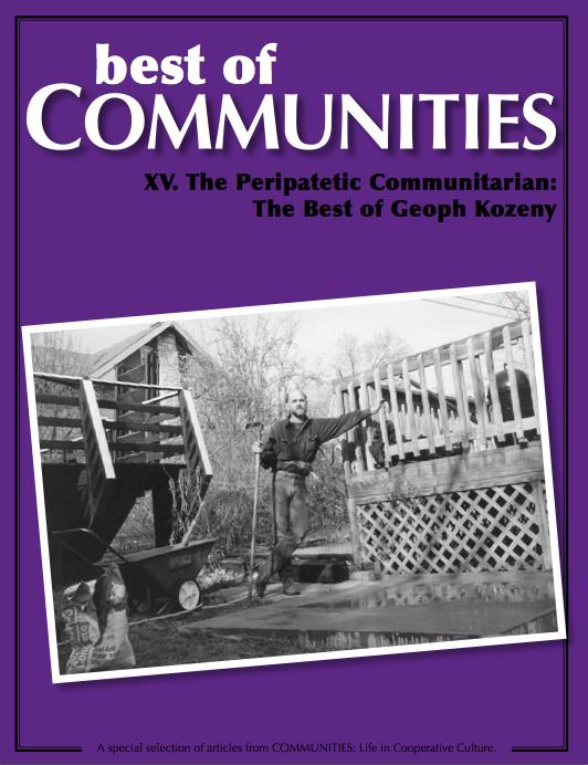 The Peripatetic Communitarian_The Best of Geoph Kozeny