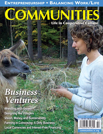 Business Ventures - Communities Magazine Cover - Winter #163