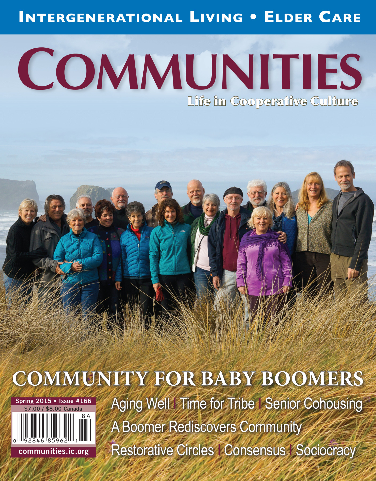 Communities magazine #166