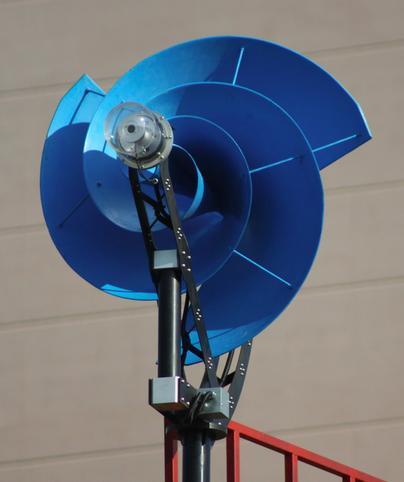 Kindig It Design >> Nautilus Shaped Wind Turbine