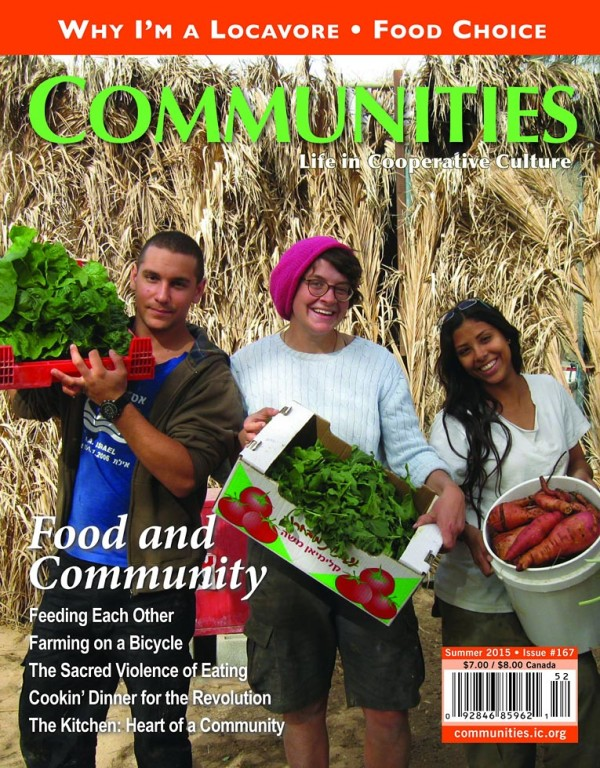 Communities magazine #167 Contents