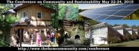 The Farm Conference on Community & Sustainability 2015 banner