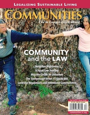 Communities magazine #168 Fall 2015