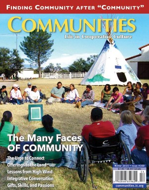 Communities magazine #169 Winter 2015