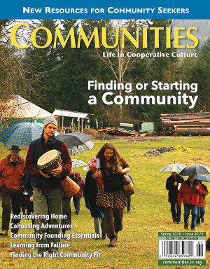 Communities magazine #170 - Finding or Starting a Community