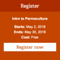 Free Online Permaculture Class Starts May 2!