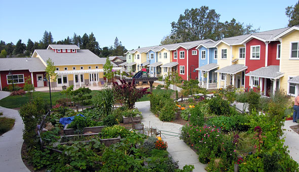 Petaluma Avenue Homes Cohousing