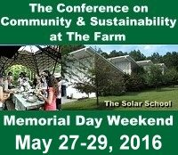 The Farm Conference on Community & Sustainability 2016 logo