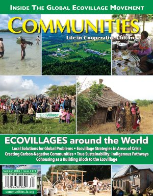 Ecovillages around the World - Communities Magazine Cover - Summer #171