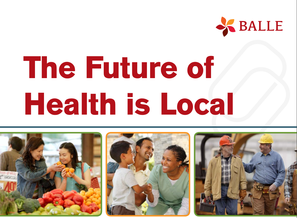 Future of Health is Local