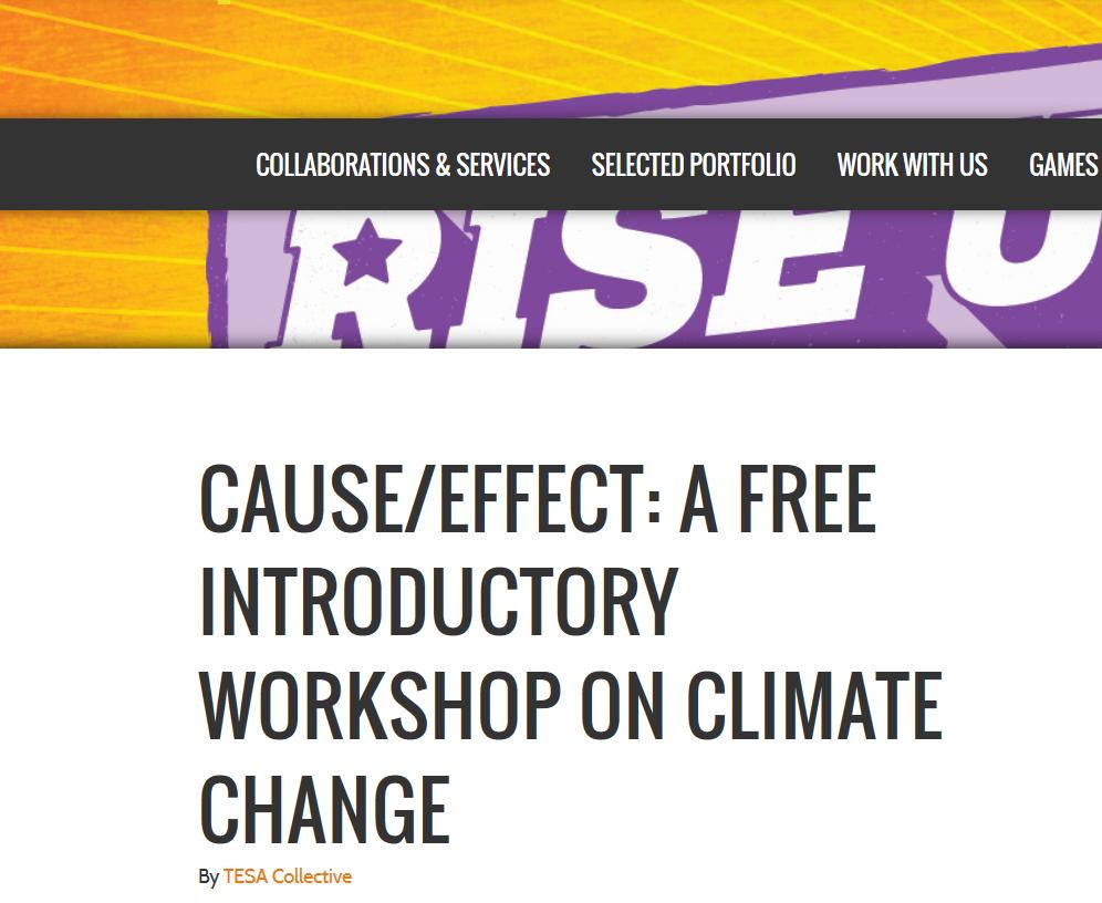 TESA climate change