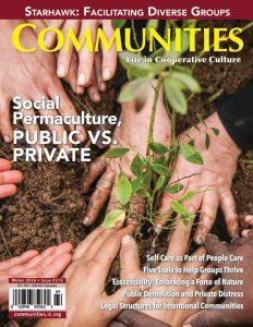 Communities magazine #173 Winter 2016 Social Permaculture