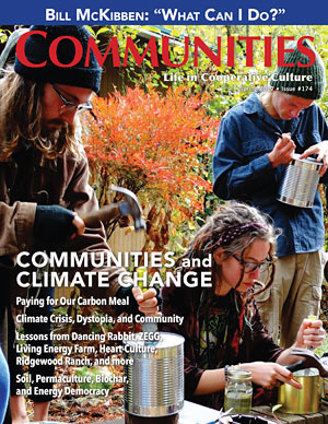 Communities and Climate Change - Communities Magazine Cover - Sprint #174