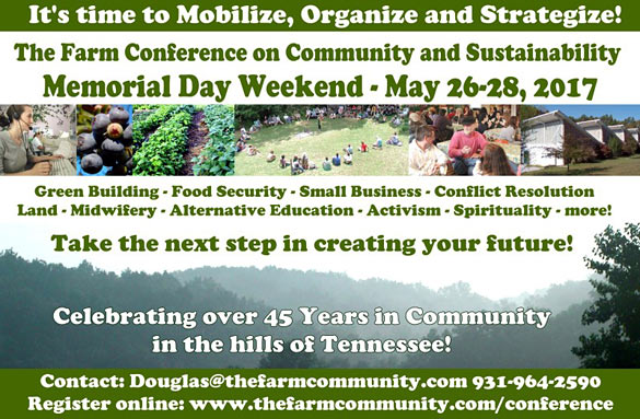 The Annual Conference On Community And Sustainability At The Farm