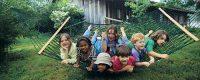 Kids in Twin Oaks Hammocks