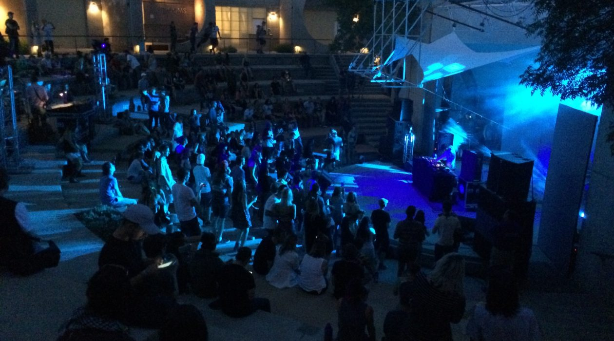 Arcosanti event night performance