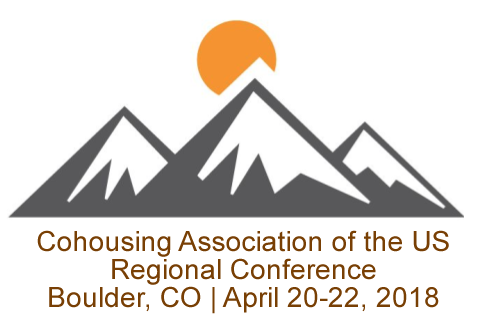 Regional Cohousing Conference: 4/20-4/22 Boulder CO