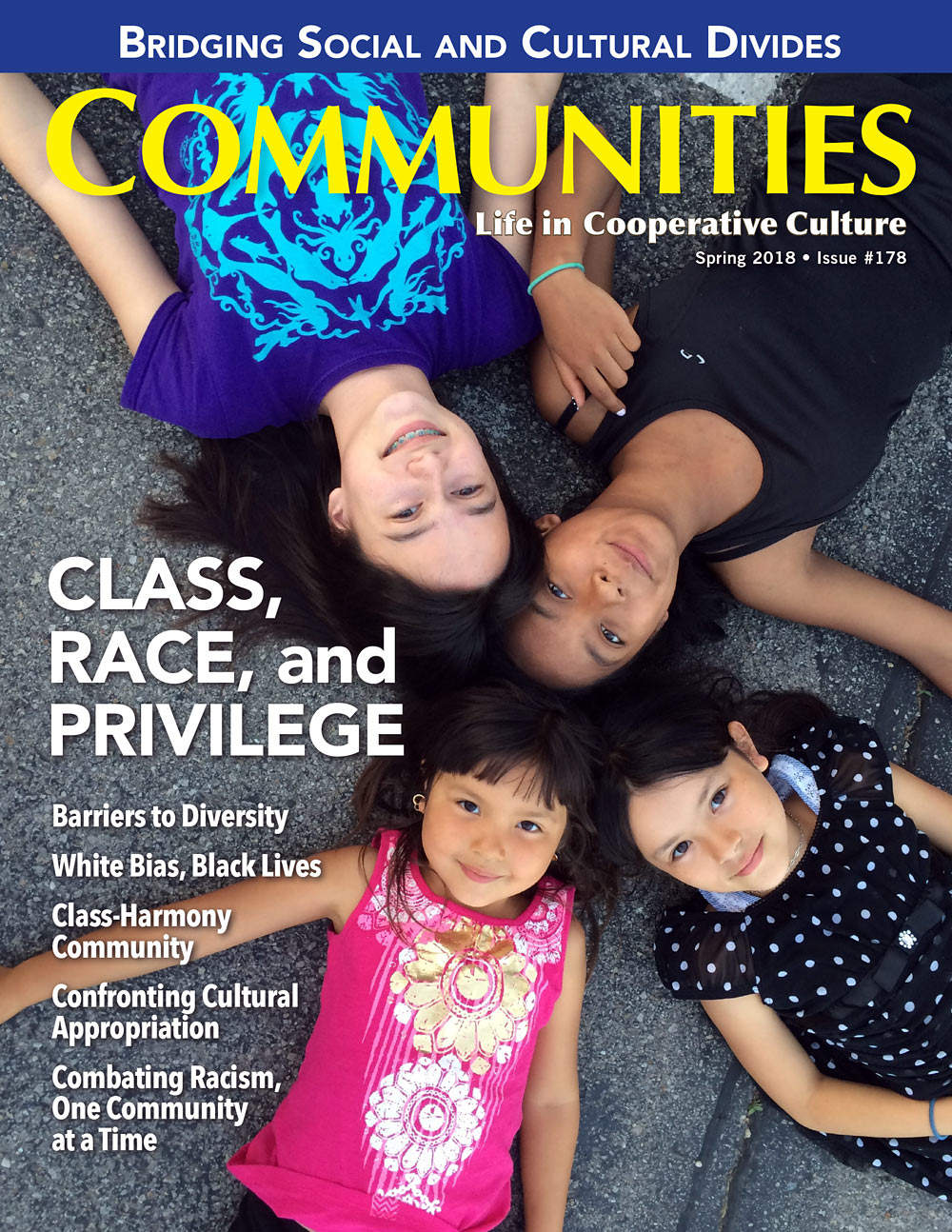 "Communities magazine, Issue 178, ""Class, Race, and Privilege"""