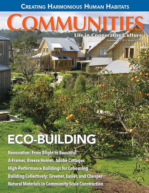 Communities magazine #179 - Eco-Building