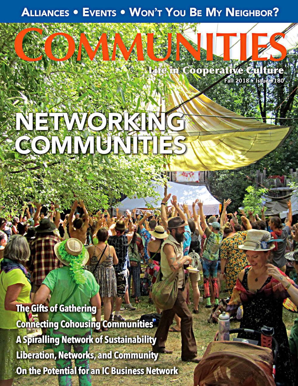 Communities magazine #180 - Networking Communities