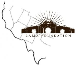 Lama Foundation Map & Logo