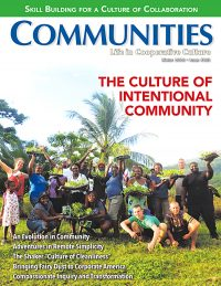 Communities magazine Winter 2018 No. 181