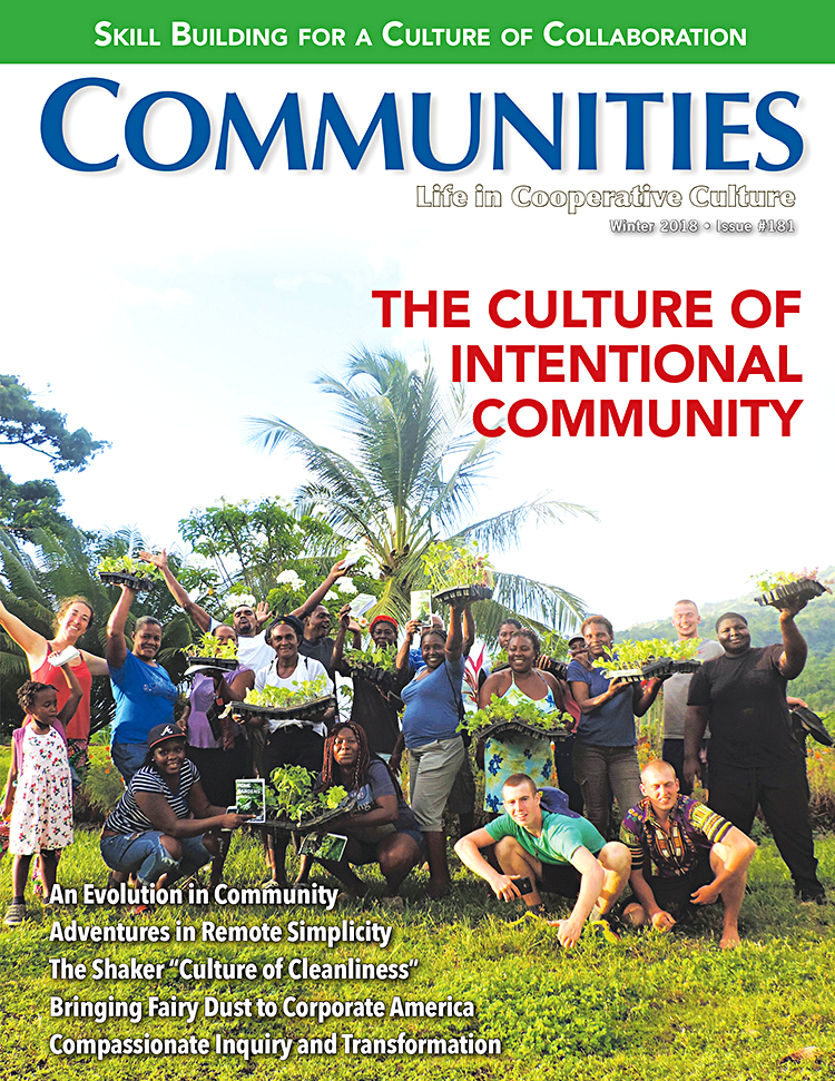 Communities magazine #181 - The Culture of Intentional Community