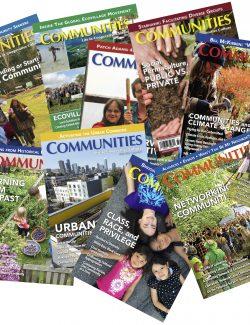 Communities Magazine Back Issues