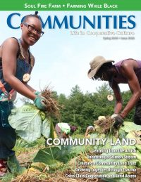 Communities magazine spring 2019 no. 182