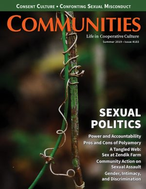 Communities magazine #183 Summer 2019