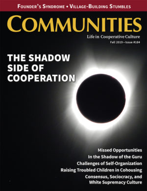 Communities magazine issue #184