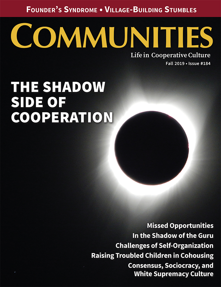 Communities magazine #184 - The Shadow Side of Cooperation