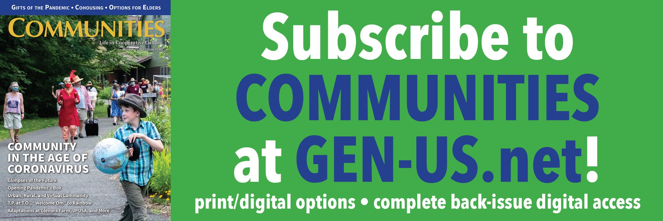 Communities Banner Ad