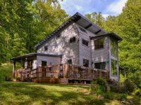Near ASHEVILLE!!! Passive Solar Home on 3/4 acre w/ BOLD CREEK- Rosy Branch Farm Community