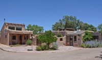 Authentic Adobe Hacienda on 1.96 acres with irrigated pastures and small livestock facility