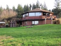 $899,000 Eaglehaven Cooperative Farm Lummi Island Octagonal Home 21 Shared Acres with views, beach