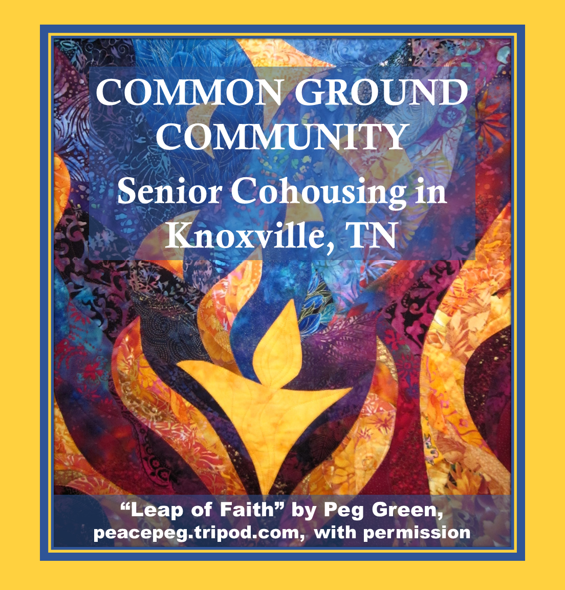 Common Ground Community Knoxville TN - Foundation for Intentional
