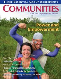 Communities magazine #148 Power & Empowerment
