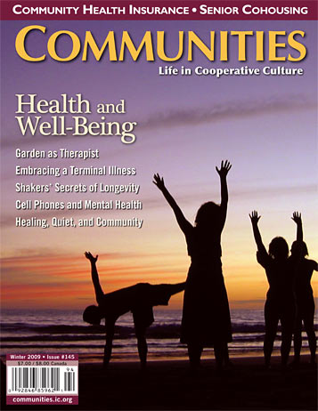Communities #145 Health and Well-Beiing