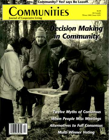 Communities #109 Decision Making
