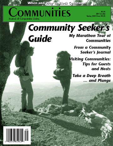 Communities magazine #122